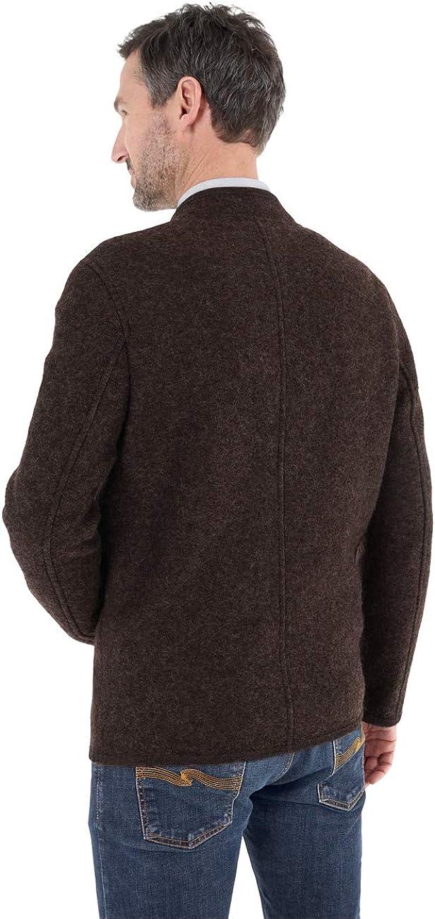 GIESSWEIN Walkjacke f/ür Herren Jonas Trachtenjanker Herrenjacke Janker Herbst Winter Jacke f/ür M/änner Jacke aus 100/% Wolle Sakko aus Wolle