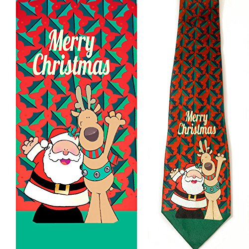 Product Image 4: Stonehouse Collection Men's Assorted Holiday Ties – 6 Fun Neckties – Tie Assortment – Christmas, Thanksgiving, Valentines, St Patricks, Easter, 4th of July