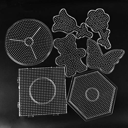 Puzzle Juguete Herramienta de 5 mm Hama Beads de Bolas de Juguete de Tablero del Rompecabezas Chino para la Educación Rompecabezas Plantilla niños de Juguete para los niños de Kinder