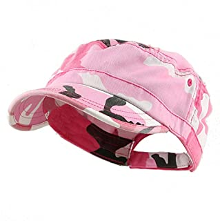 b895793358e MG Women s Enzyme Washed Cotton Twill Cap Hat (Pink ...