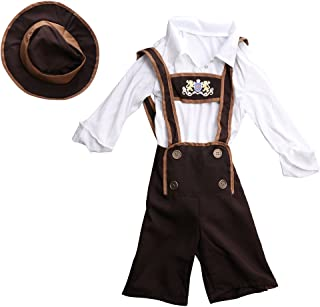 Da Uomo Marrone Oktoberfest Cappello Bavarese Tedesco Festival costume di scena