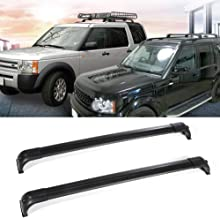 OCPTY Roof Rack Cross Bar Cargo Carrier Fit for 2010-2016 Land Rover LR4 Sport Utility 4-Door Roof Rack Crossbars