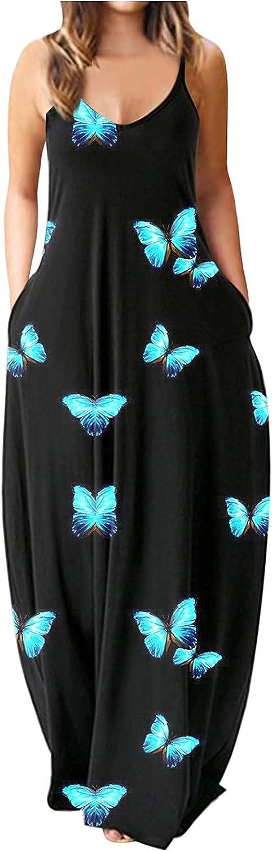 Casual Dresses for Womens,Summer Dresses for Women Short Sleeve Bow Knot Bandage Top Sunflower Print Mini Dress Suit Dress Sundress Blue