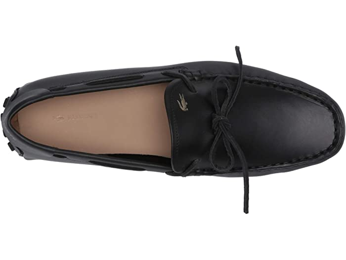 Lacoste Concours Nautic 120 1 U Black/gold Loafers