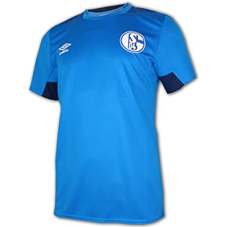 UMBRO FC Schalke 04 Kinder Training Shirt blau S04 Fu/ßball Jersey Fanartikel Jr.