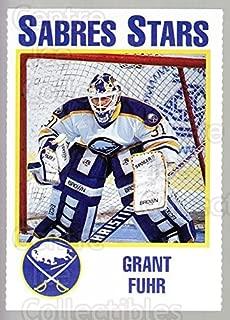 (CI) Grant Fuhr Hockey Card 1993-94 Buffalo Sabres Noco 4 Grant Fuhr