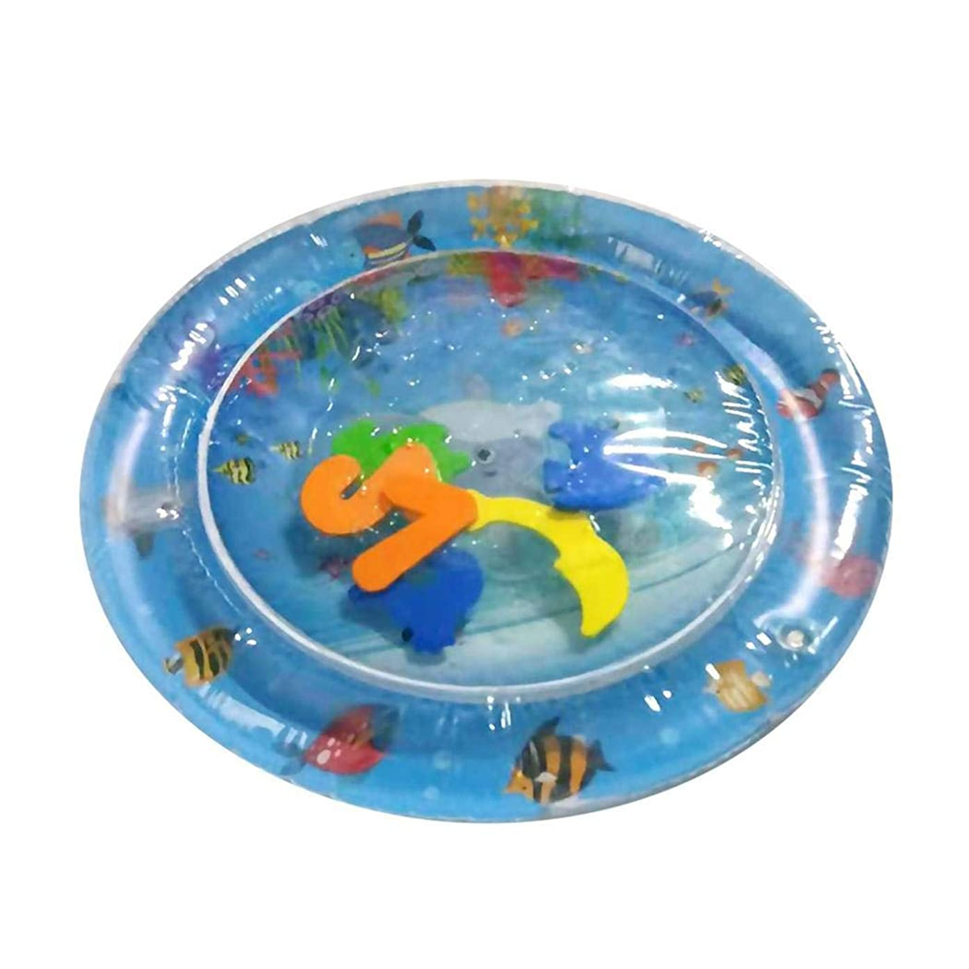 Inflatable Baby Water Mat, Infants Toddlers is The Perfect Fun Time Play Activity Center Your Baby's Stimulation Growth
