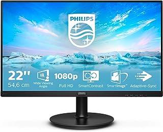 "Monitor voor PC 22"" FHD Zonder luidsprekers Blanco Y Gris"
