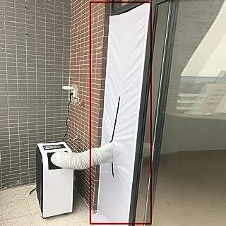99native Aislamiento Ventanas para Aire Acondicionado Móvil y Secadora, Sello de Ventanas Impermeable, Anti UV, Anti-Insectos, con Dual Cremallera Fácil Instalación Evita La Entrada de Mosquitos