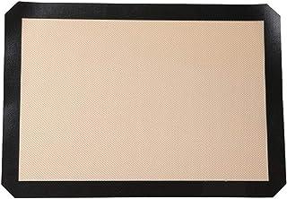 Hemoton Tapis de cuisson en silicone antidérapant, tapis de cuisson en silicone pour boulangerie, 42 x 29,5 cm
