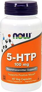 NOW 5-HTP 100 mg,60 Veg Capsules