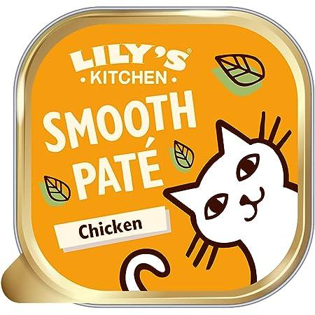 Lily S Kitchen Katzen Nassfutter Mit Huhnerfleisch Klassisches Abendessen Vollwertnahrung 19 X 85g Amazon De Haustier