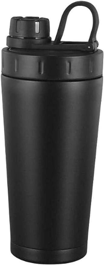 QSs-Ⓡ Travel Fitness Shaker Shaker Coctelera de Acero ...