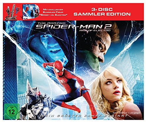 The Amazing Spider-Man 2: Rise of Electro (Figur Spidey vs. Electro +Blu-ray  und Bonus-Blu-ray)