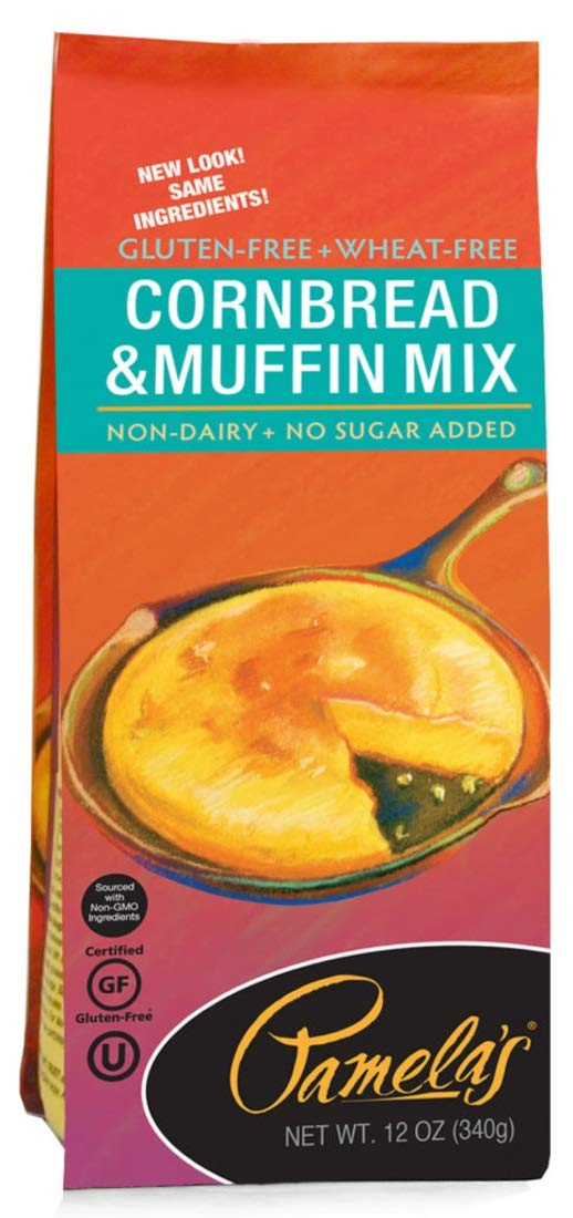 Pamela'S Corn Bread Easy-to-use Muffin Mix 12 6 Memphis Mall Oz Of Pack - of