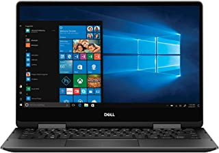 Dell i7386-7007BLK-PUS, 2-IN-1 Touch Screen Laptop, Intel Core i7-8565U,13.3 Inch,16GB RAM, 256GB SSD, English Keyboard, Windows 10, Black