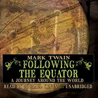 Following the Equator audiobook cover art