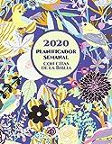 2020 Planificador Semanal Con Versos De La Biblia En Cada Pagina: Agenda Para Un Año |...