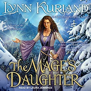 The Mage's Daughter audiobook cover art