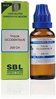 SBL Homeopathic Thuja Occidentalis (200 CH) (30 ML) by Exportdeals