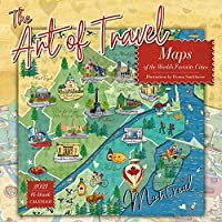 The Art of Travel 2021 Calendar: Maps of the World's Favorite Cities
