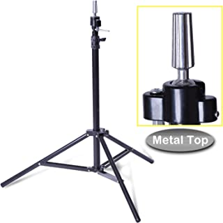 Smilco Adjustable Wig Mannequin Head Tripod Stand for Hairdressing Cosmetology Enhanced Version Training Head Tripod Stand (Classic)
