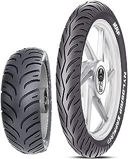 MRF Nylogrip Zapper-FX1 100/80 -17 52P Tubeless Bike Tyre, Front