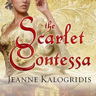 The Scarlet Contessa audiobook cover art