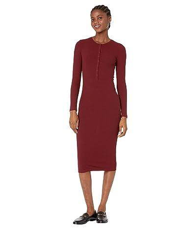 Bardot Merissa Rib Midi Dress