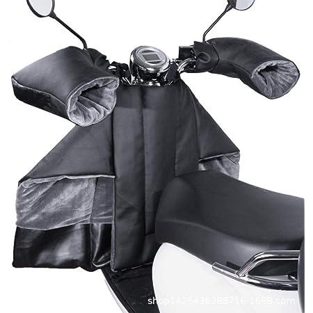 Steadyuf Motorrad Wetterschutz Mit Handschuhe Motorrad Motorrad Abdeckplane Beinschutz Roller Universal Bein Wetterschutz Motorroller Roller Regenschutz Motorroller Nässeschutz Küche Haushalt