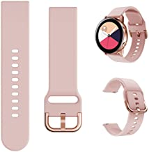 Minggo Band Compatible with Samsung Galaxy Watch Active/Active2 40mm/44mm,Silicone Sports Wristband Replacement Compatible...