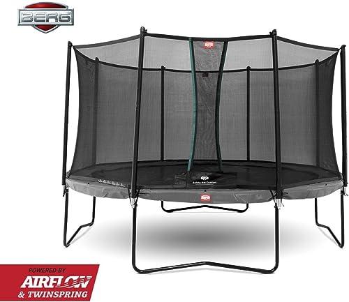 sin mínimo BERG Champion 330 + Safety Net Comfort 330 330 330 Trampoline 11ft gris  ahorra hasta un 80%