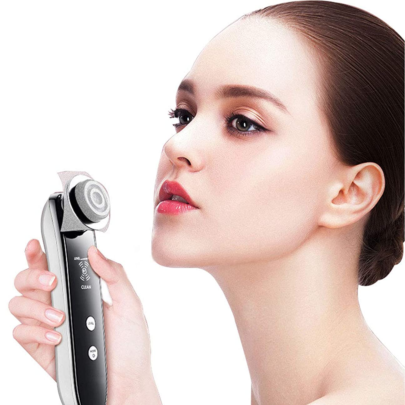 終わり改修許されるRF の無線周波数の美の器械 5 1 の多機能の顔のマッサージ器、皮の気遣うことのための美装置、穏やかな剥離および気孔の収縮のための機械