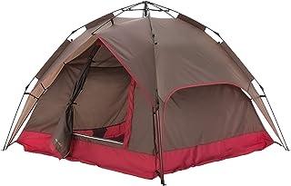 モダンデコ ワンタッチテント フルクローズ テント 2人用 ~ 4人用 ドーム型 簡易テント uvカット 防水 【3人 4人用】