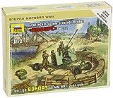Zvezda 500786170 - 1:72 Britische Bofors 40 mm Mk-2 Flak -