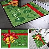 Navidad–Felpudo | campanas de Navidad diseño) Navidad para...