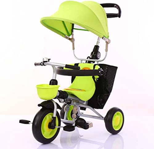 Sin impuestos Triciclos Niños Bicicleta de 1 a 5 años Carrito de de de bebé Carrito de Niños Bicicleta Trike Niños 3 Ruedas ( Color   Fruit verde )  marca
