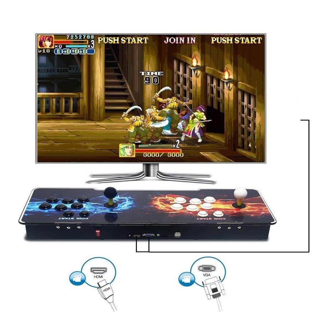 MEANS Pandora Box 5 última versión Arcade Game Console 1314 en 1 TV Video Game: Amazon.es: Videojuegos
