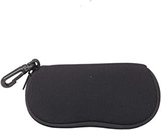 """Ultra-Light Neoprene Case For Sunglasses With Belt Clip,Portable Eye Glasses Care Case, Anti-Scratch Travel Pouch And Zipper Eye Glass Case 7""""x3"""""""