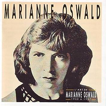 L'art de Mariane Oswald 1932 à 1937
