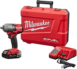 M18 FUEL 18-Volt Lithium-Ion Mid Torque Brushless Cordless 1/2 in. Impact Wrench W/Friction Ring Kit