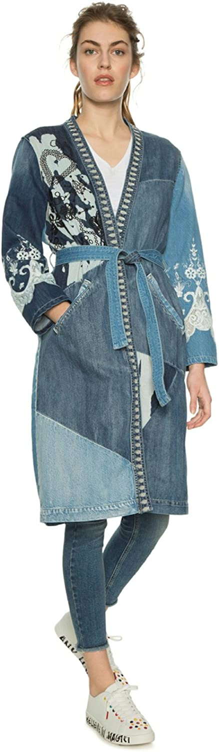 Desigual Denim Coat  Martha  18SWED47 (bluee)