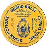 Aceite para Barba Prémium para Hombres de Seven Potions - Suavizante Aceite de Jojoba para Nutrir la Piel, el Pelo, y Evitar la Picazón de la Barba - Natural, Vegano (Citrus Tonic)