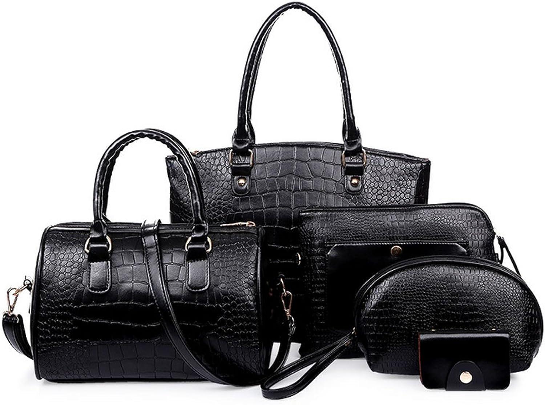 My.Monkey Womens Euroupe and America Retro Designer unique FivePiece High Quality Handbag Wallet