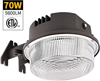 Bbounder – LightPRO 70W 9800LM LED Barn Lights Dusk to Dawn Outdoor Area Lights..