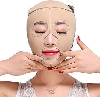 XIANWEI Soin Visage Lifting Minceur Masque Bandage Couverture Complete Reduit Visage Double Soin Menton Ceinture Beaute Perte Poids  L   Size
