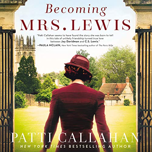 Becoming Mrs. Lewis audiobook cover art