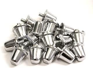 16 X Rugby Union Screw In Studs 18Mm Aluminium [Misc.]