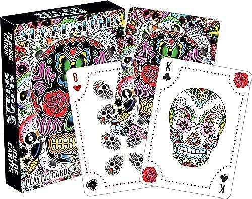 Sugar Skulls Playing Cards by Aquarius