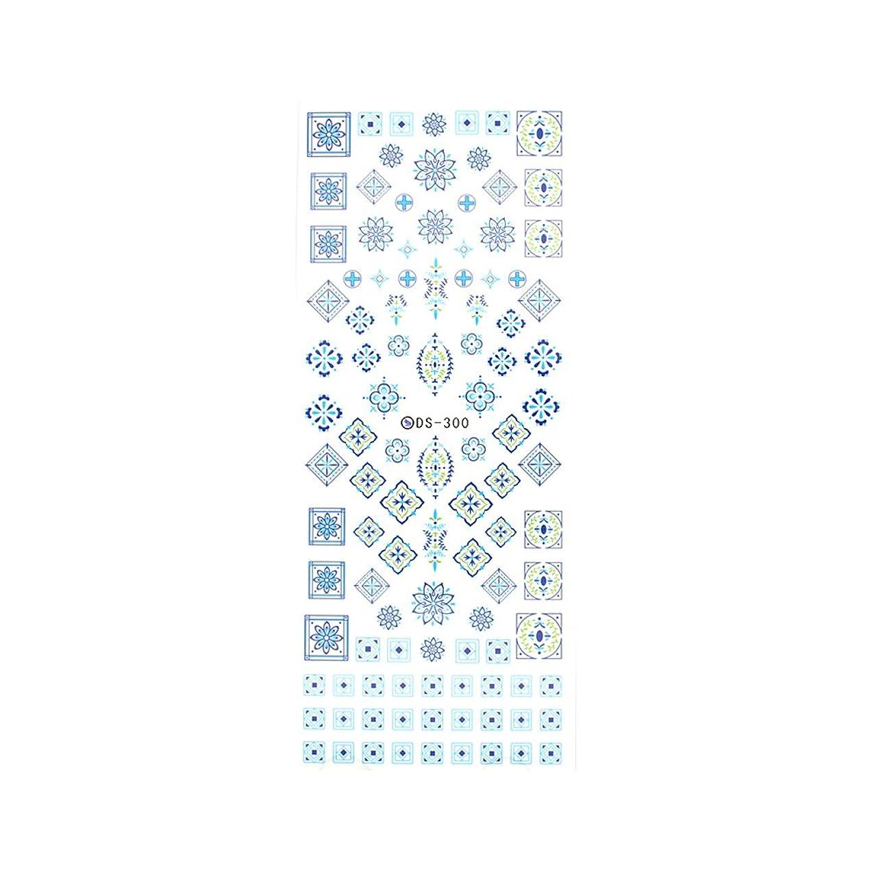 もシミュレートするネックレット【DS-300】アラベスク柄ネイルシール